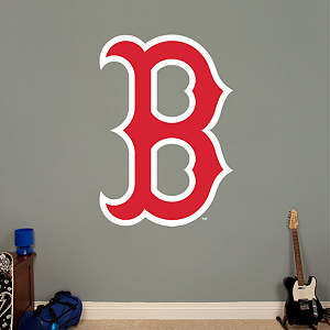 Boston Red Sox B Logo Fathead Wall Decal